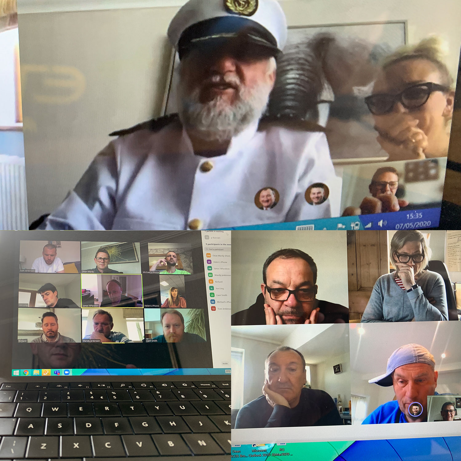 Who knew video-conferencing could be fun!