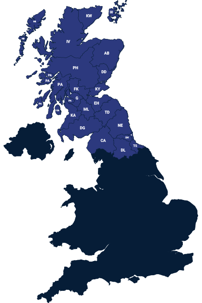 Richard Harrison Map