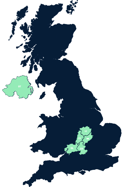 Steve Horner Map